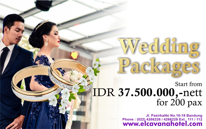 Wedding Package Elcavana Hotel
